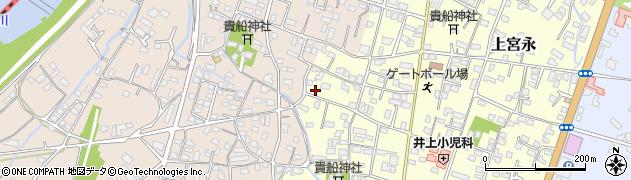 大分県中津市上宮永1181周辺の地図