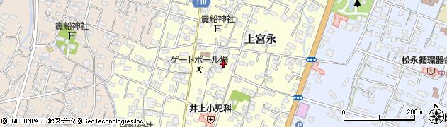 大分県中津市上宮永26周辺の地図
