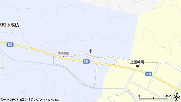 大分県国東市国東町下成仏1508周辺の地図
