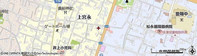 大分県中津市上宮永182周辺の地図