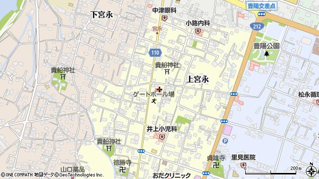 大分県中津市上宮永29周辺の地図