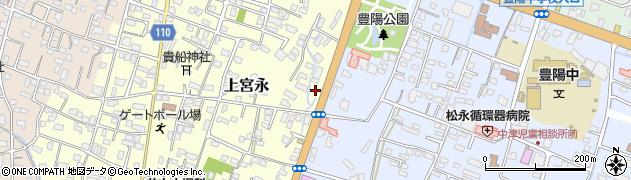 大分県中津市上宮永149周辺の地図