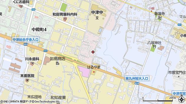 大分県中津市牛神659周辺の地図