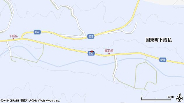 大分県国東市国東町下成仏2154周辺の地図