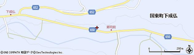 大分県国東市国東町下成仏679周辺の地図