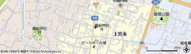 大分県中津市上宮永46周辺の地図