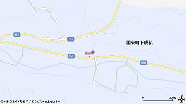 大分県国東市国東町下成仏765周辺の地図