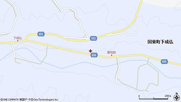 大分県国東市国東町下成仏589周辺の地図