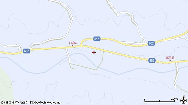 大分県国東市国東町下成仏409周辺の地図
