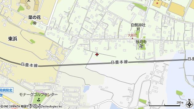大分県中津市大新田1081周辺の地図