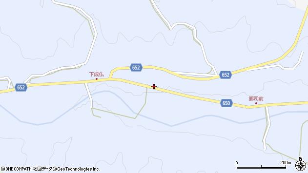 大分県国東市国東町下成仏446周辺の地図