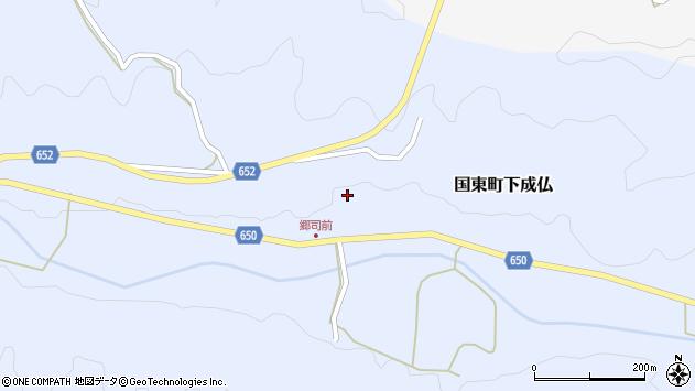 大分県国東市国東町下成仏776周辺の地図
