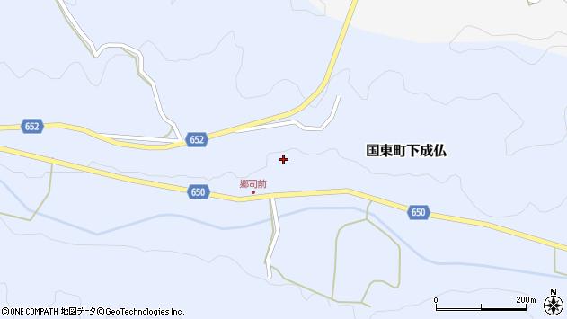 大分県国東市国東町下成仏773周辺の地図
