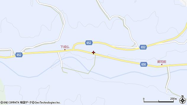 大分県国東市国東町下成仏438周辺の地図