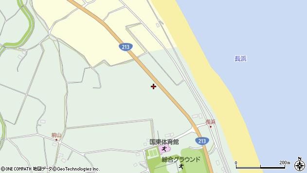 大分県国東市国東町富来浦2633周辺の地図