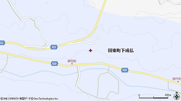 大分県国東市国東町下成仏811周辺の地図