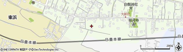 大分県中津市大新田950周辺の地図