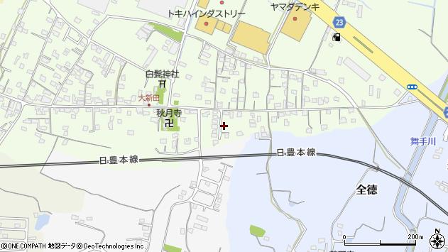 大分県中津市大新田1001周辺の地図