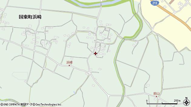 大分県国東市国東町浜崎2208周辺の地図