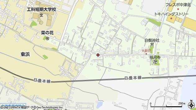 大分県中津市大新田920周辺の地図
