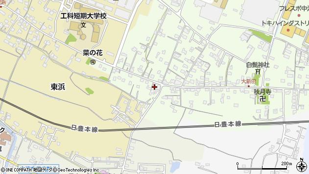 大分県中津市大新田925周辺の地図