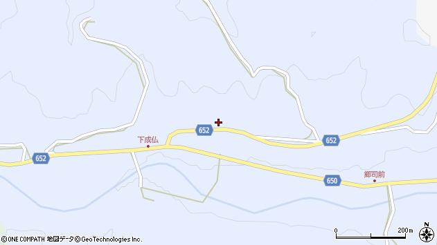 大分県国東市国東町下成仏469周辺の地図