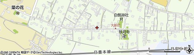 大分県中津市大新田762周辺の地図