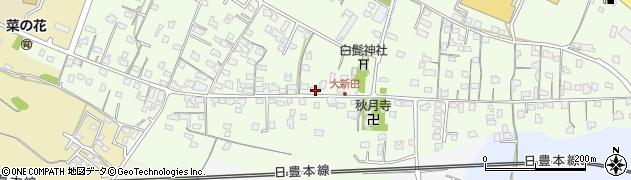 大分県中津市大新田747周辺の地図
