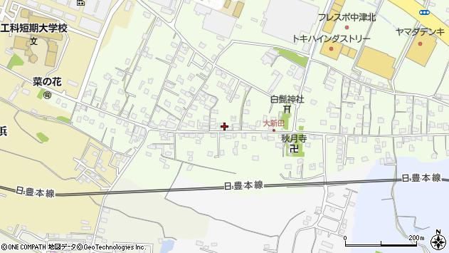 大分県中津市大新田764周辺の地図