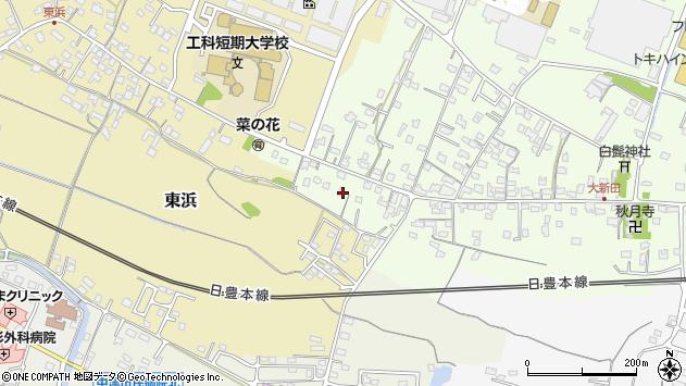 大分県中津市大新田912周辺の地図