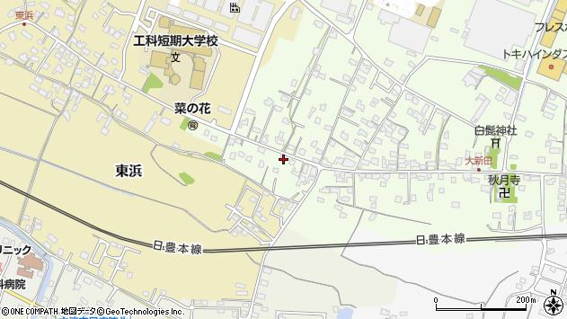 大分県中津市大新田919周辺の地図