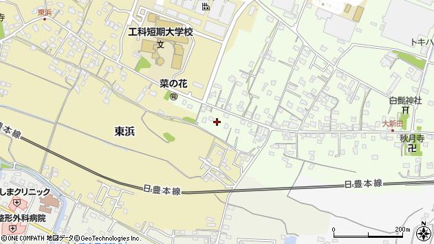 大分県中津市大新田909周辺の地図