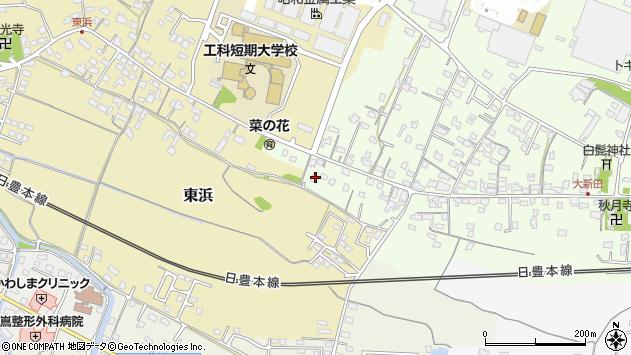 大分県中津市大新田905周辺の地図