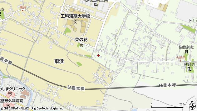 大分県中津市大新田907周辺の地図