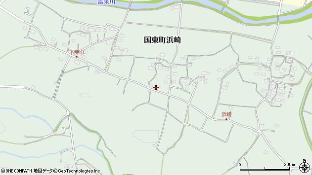 大分県国東市国東町浜崎1024周辺の地図