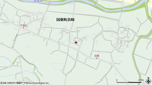 大分県国東市国東町浜崎1013周辺の地図