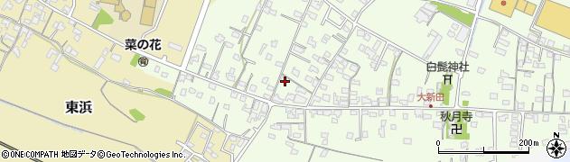 大分県中津市大新田822周辺の地図