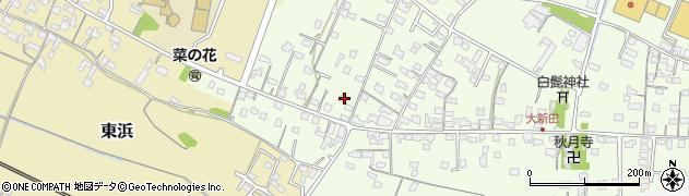 大分県中津市大新田847周辺の地図