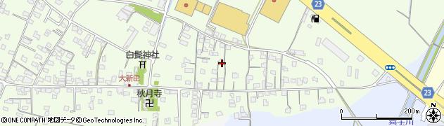 大分県中津市大新田688周辺の地図