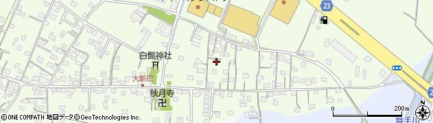 大分県中津市大新田周辺の地図