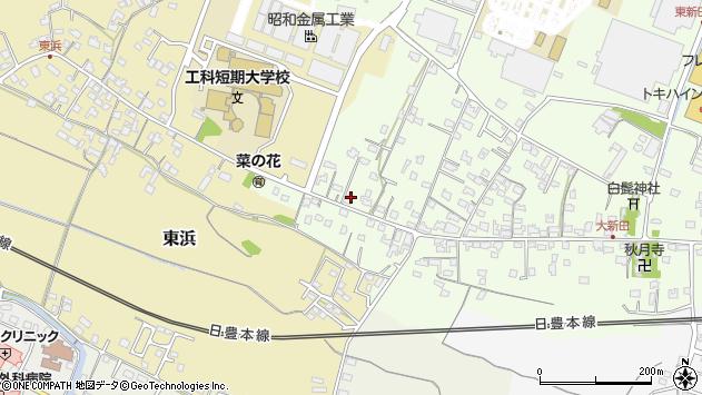 大分県中津市大新田878周辺の地図