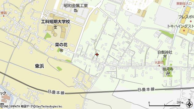 大分県中津市大新田860周辺の地図