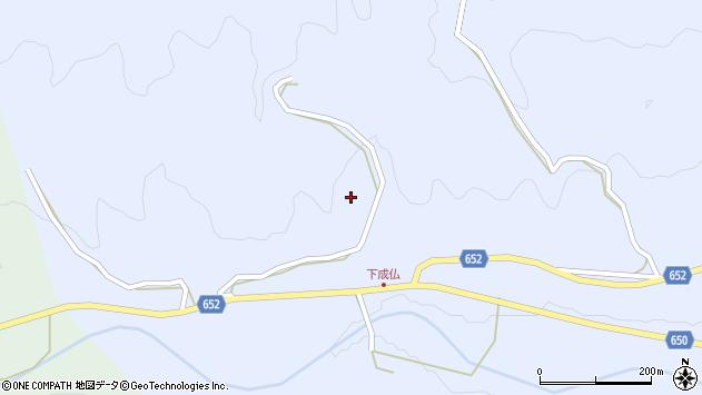大分県国東市国東町下成仏平原周辺の地図