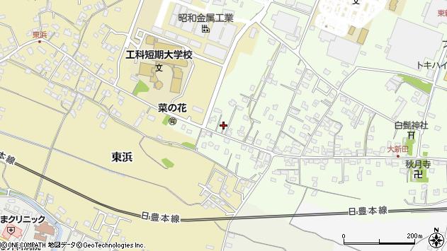 大分県中津市大新田881周辺の地図