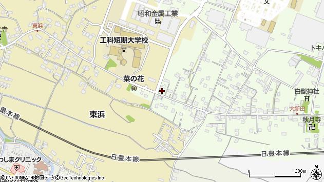 大分県中津市大新田896周辺の地図