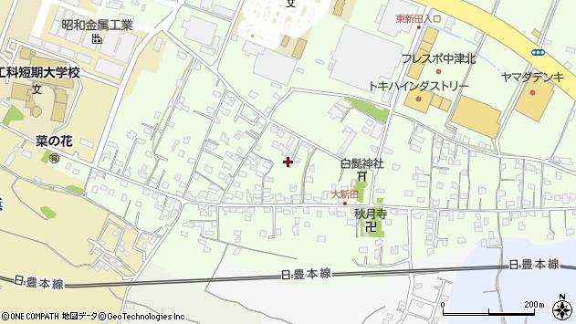 大分県中津市大新田768周辺の地図