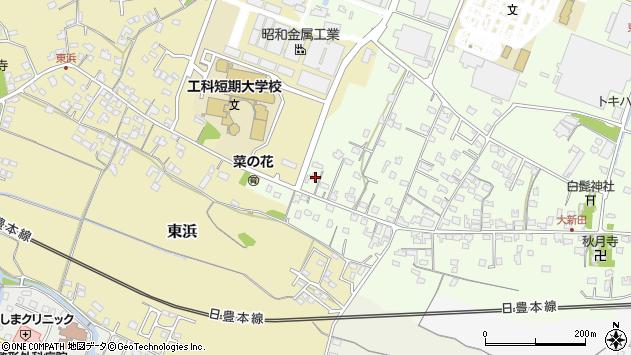 大分県中津市大新田895周辺の地図
