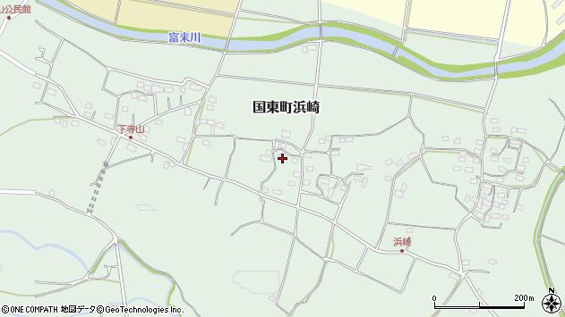 大分県国東市国東町浜崎930周辺の地図