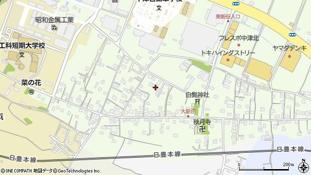 大分県中津市大新田771周辺の地図