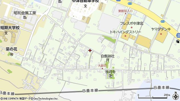 大分県中津市大新田759周辺の地図